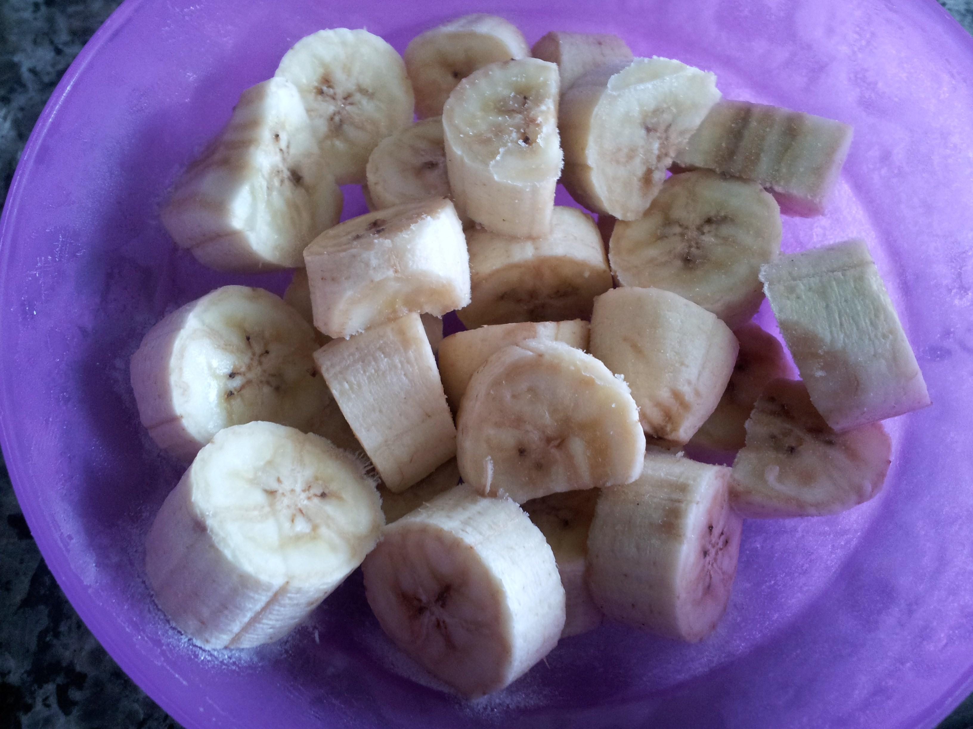 Banana-congelada